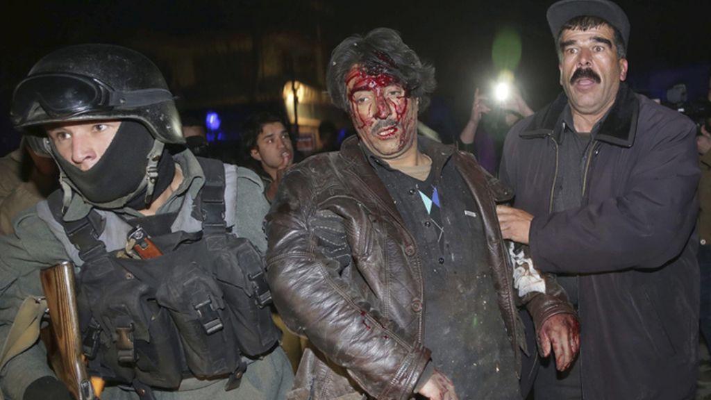 Atentado mortal en un restaurante extranjero en Kabul, Afganistán