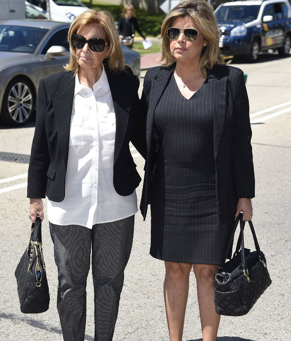 La periodista María Teresa Campos y su hija Terelu Campos