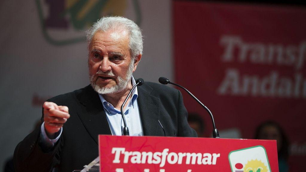El excoordinador general de IU Julio Anguita