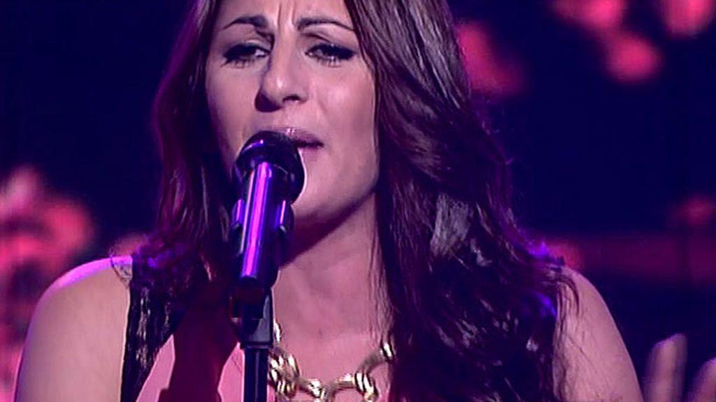 La artista de 'La Voz', actúa en directo en el programa
