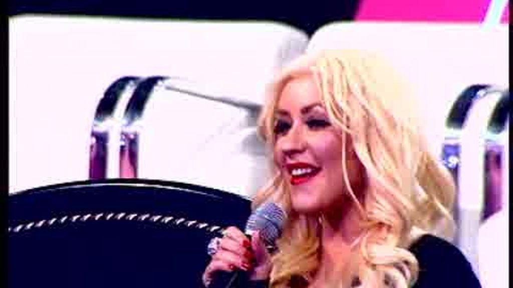 Promo Fama Revolution: Los chicos lo dan todo con Christina Aguilera