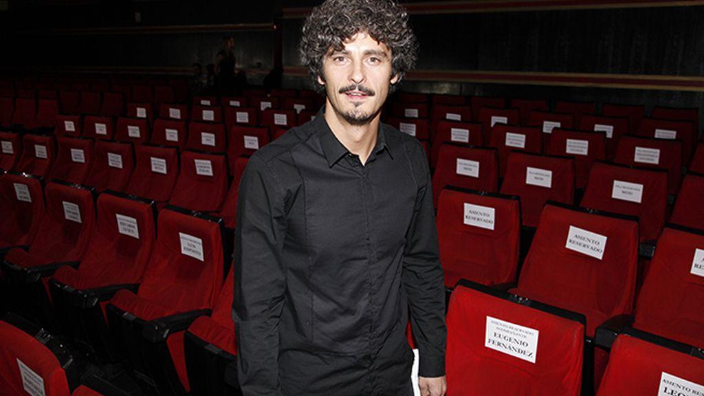 Antonio Pagudo, uno de los populares rostros de Mediaset que acudió al estreno