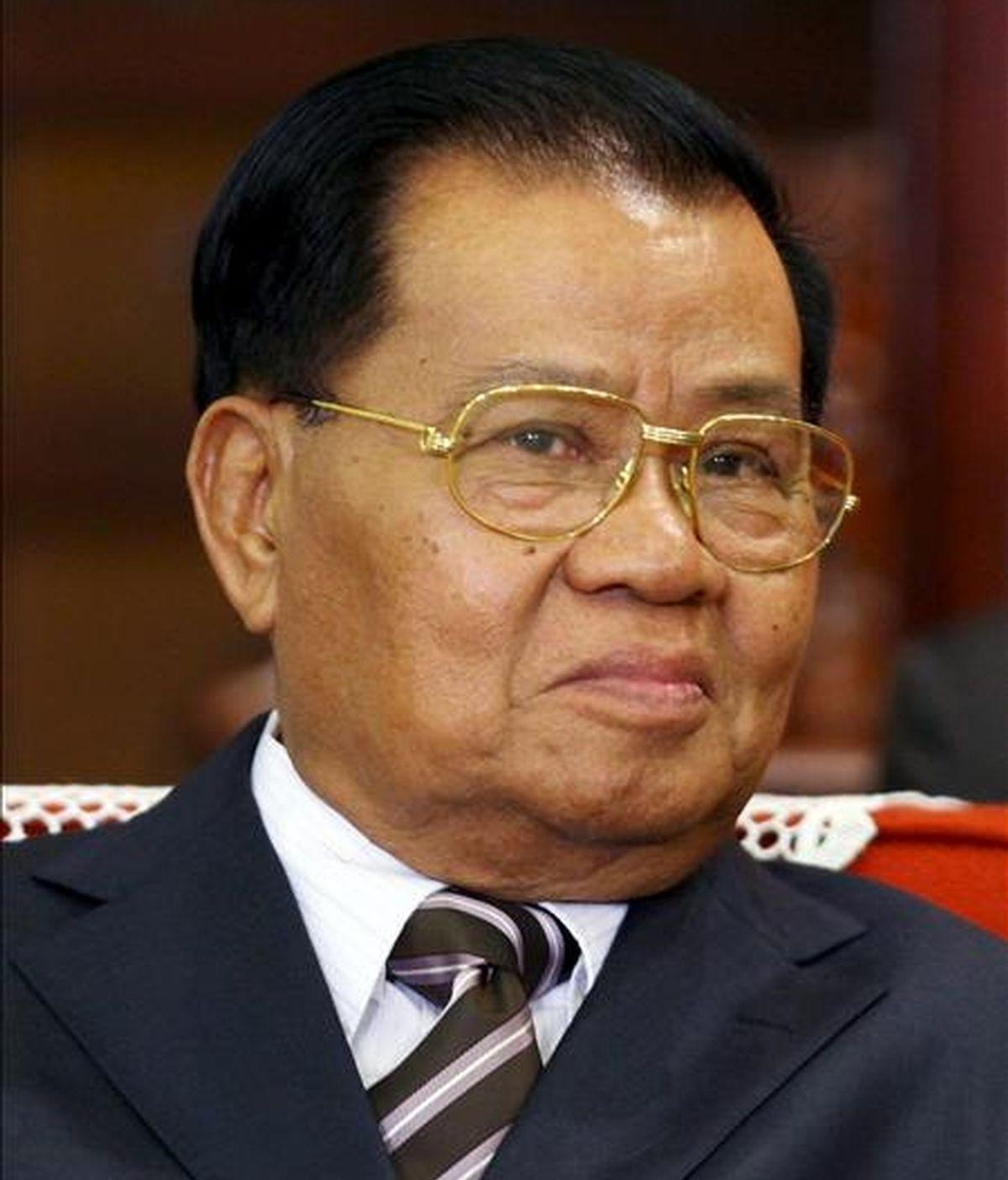El jefe de la Junta Militar de Birmania, general Than Shwe. EFE/Archivo