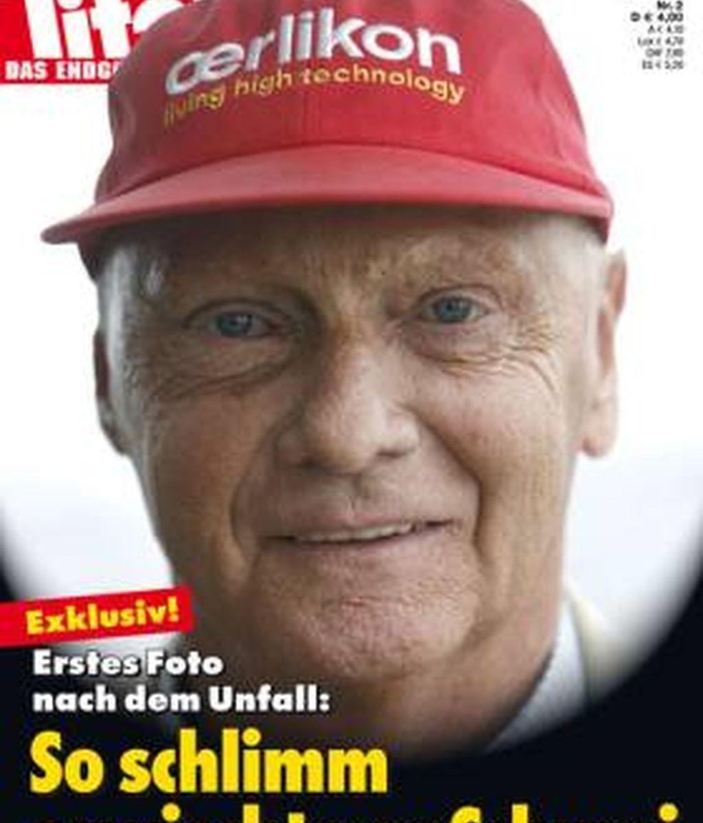 La revista alemana Titanic bromea con el estado de salud de Schumacher