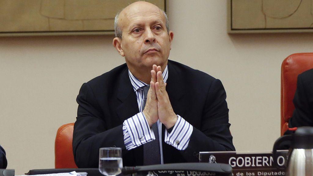 El ministro de Educación comparece en el Congreso