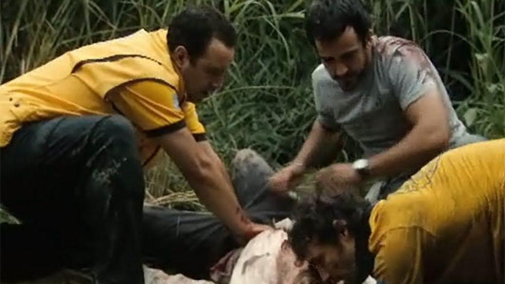 Raúl  escapa de los secuestradores