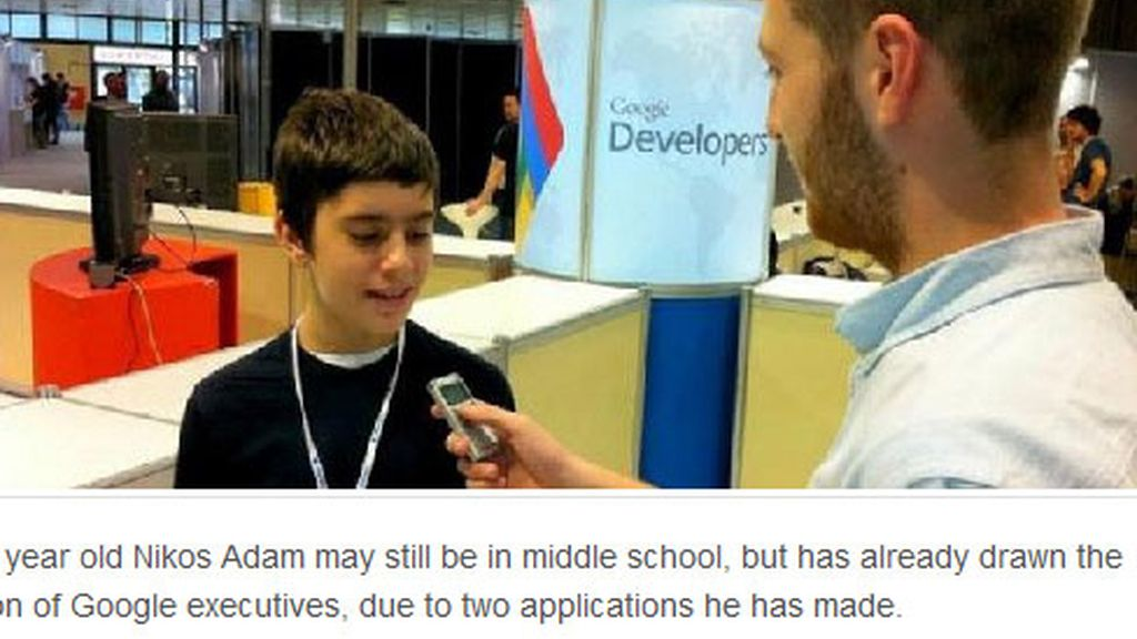 Google ficha a un programador de solo 12 años
