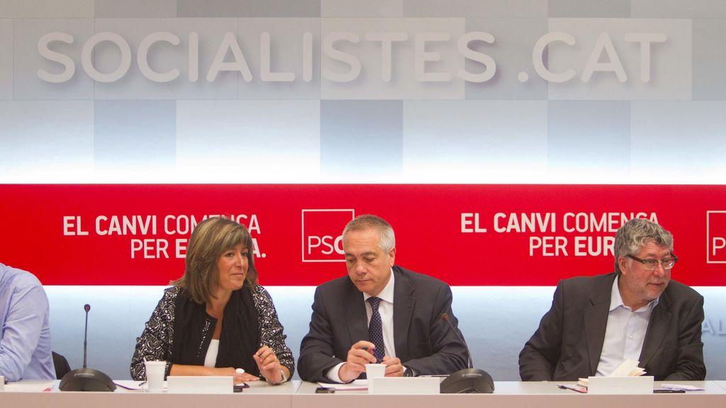 El PSC analiza los resultados en las europeas