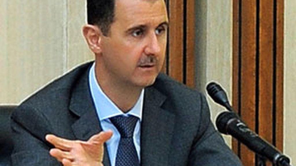 Fotografía facilitada por la agencia siria de noticias SANA del presidente sirio, Bachar al Asad. Foto: EFE.