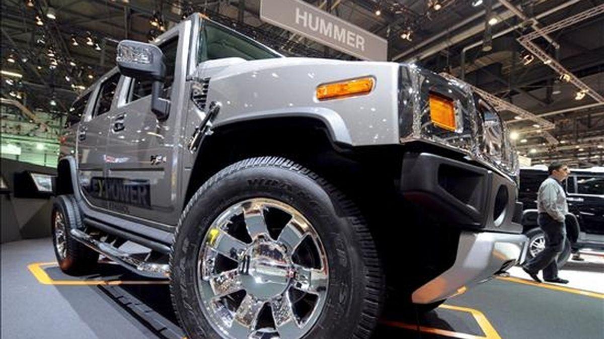 General Motors dijo que el comprador de Hummer es una empresa china desconocida en el mundo del automóvil, Sichuan Tengzhong Heavy Industrial Machinery. EFE/Archivo