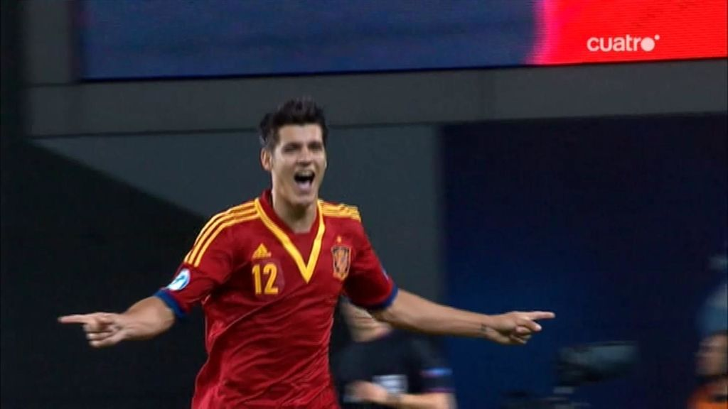 Morata volvió a marcar en el Europeo Sub-21