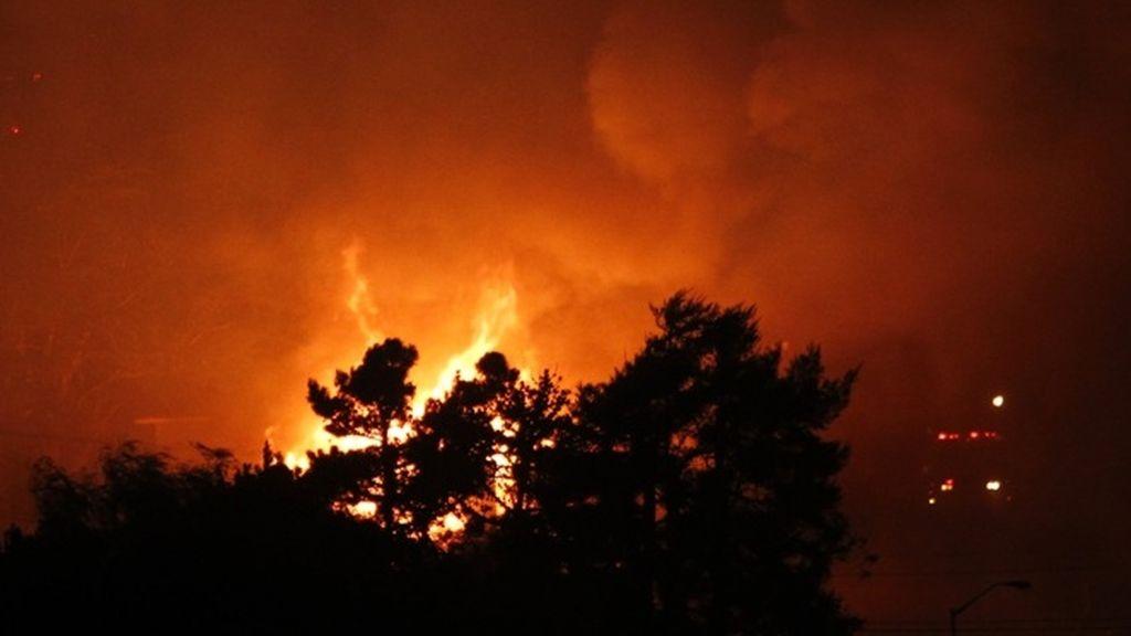 Incendio tras una explosión de gas en San Francisco