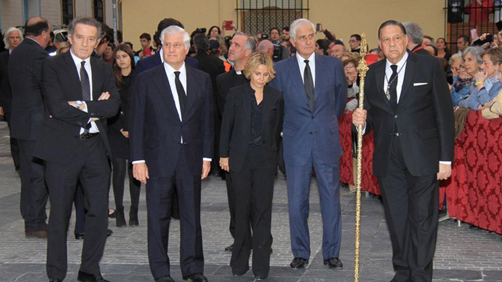 Parte de las cenizas de la Duquesa de Alba son depositadas en la Hermandad de los Gitanos en Sevilla