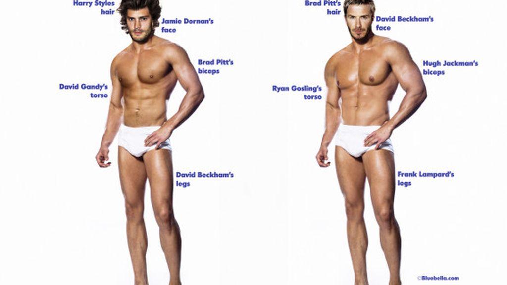 ¿El cuerpo perfecto de hombre?