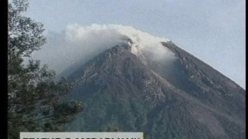 Merapi activa la alerta en Indonesia