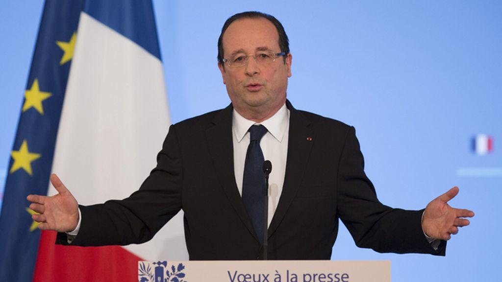 Hollande justifica la intervención francesa en Mali