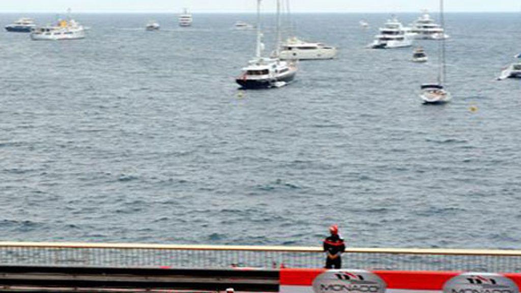 Raikkonen, durante el GP de Mónaco. FOTO: Archivo.