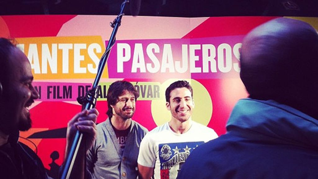 Silvestre y Hugo Silva son grandes amigos