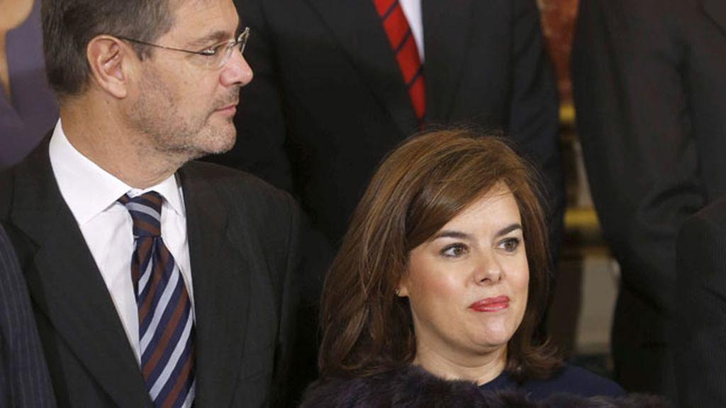 Sáenz de Santamaría no descarta nada respecto a su futuro político