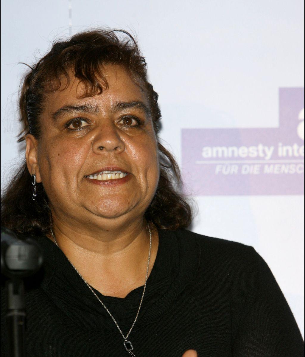 La activista mexicana Norma Andrade