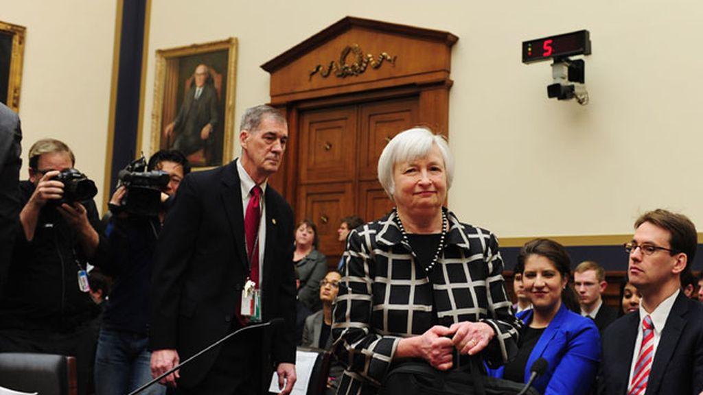 La nueva presidenta de la Reserva Federal de EEUU promete estabilidad monetaria