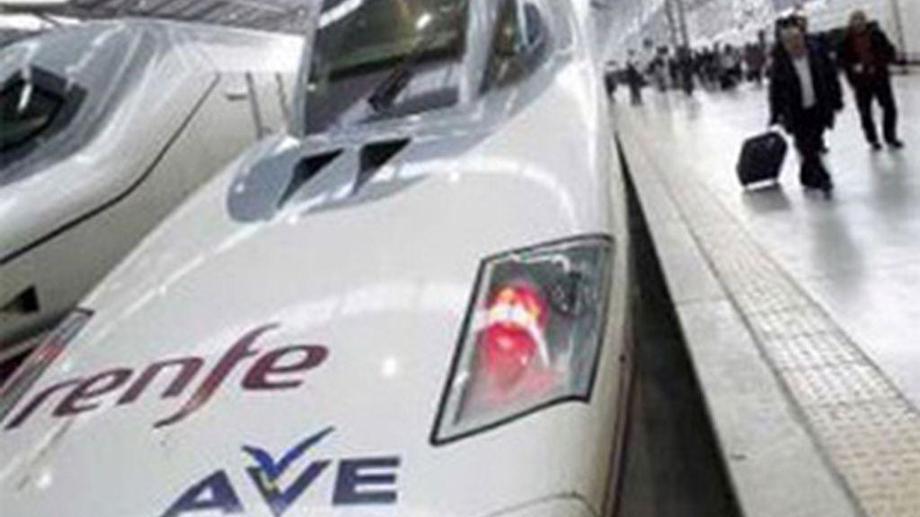 El AVE Madrid-Valencia es ya casi una realidad. Foto: EFE