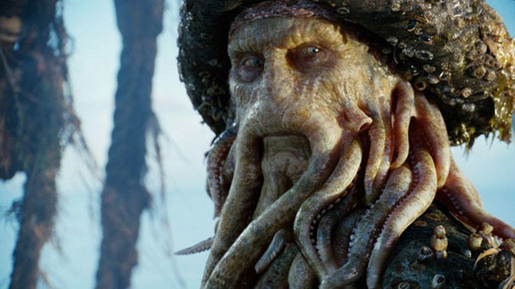 Davy Jones de 'Piratas del Caribe'