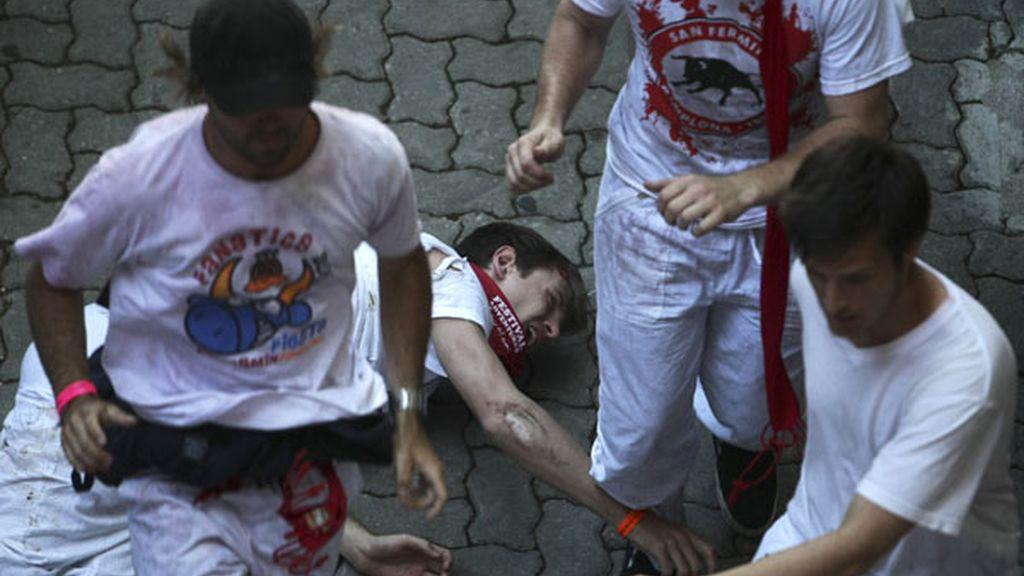 Primer encierro de los Sanfermines 2010