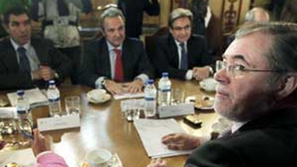 El titular de Justicia, Mariano Fernández Bermejo (imagen de archivo), ha intentado que los jueces no lleguen a la huelga. Foto: EFE