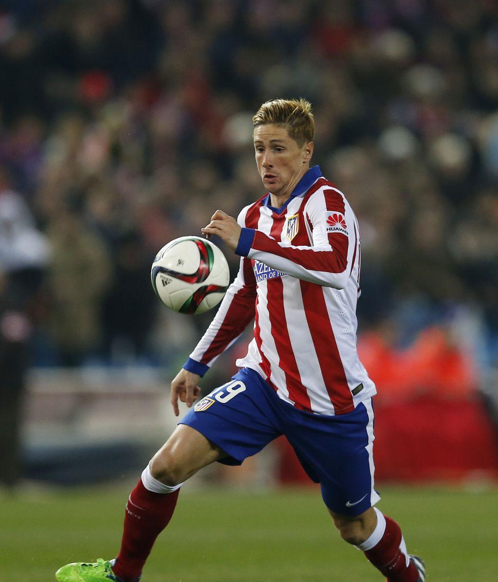 La vuelta de Fernando Torres al Atleti