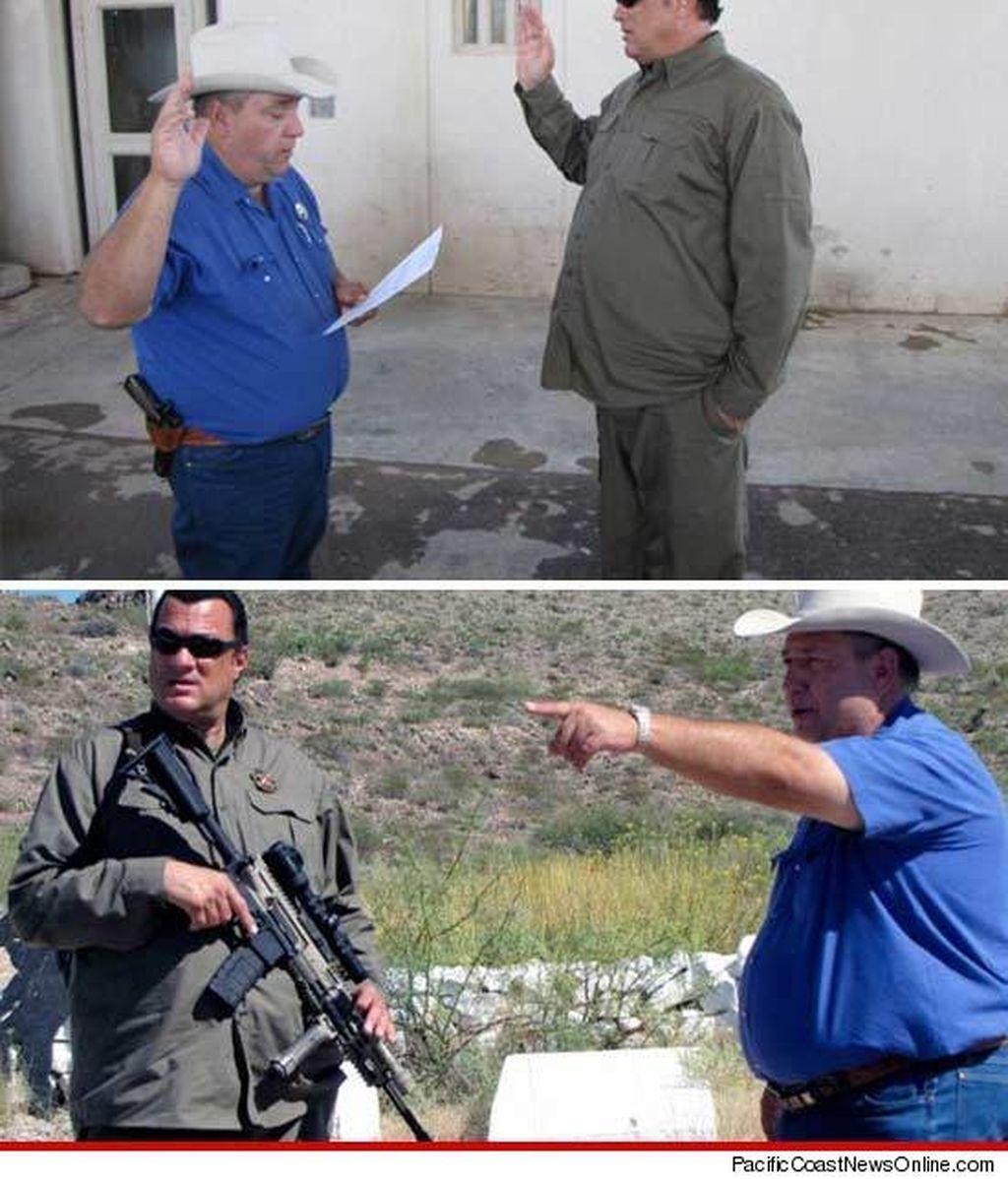 Steven Seagal cazará inmigrantes ilegales