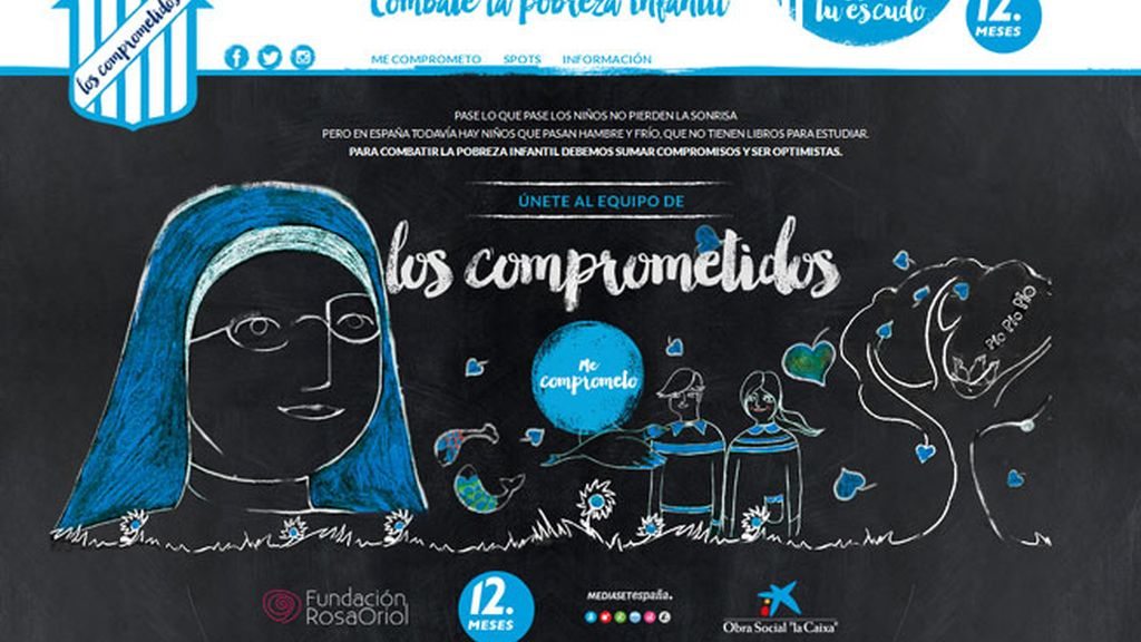 Mediaset recauda 200.000 euros para combatir la pobreza infantil en España