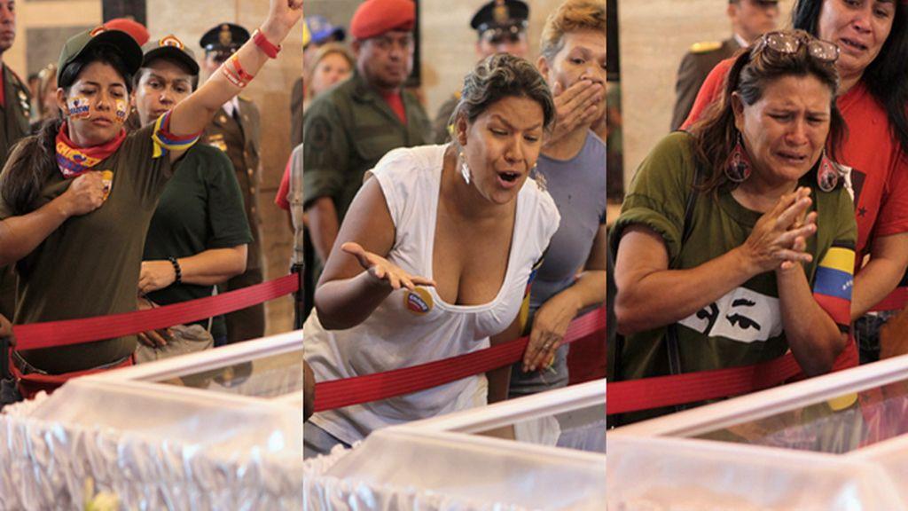 Los venezolanos dicen su último adiós a Hugo Chávez