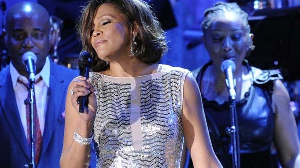 Cantando en los premios Grammy en 2011