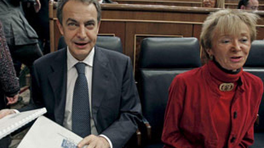 """Zapatero dice que el paro de noviembre se acerca al de los """"años normales"""". Vídeo: ATLAS."""