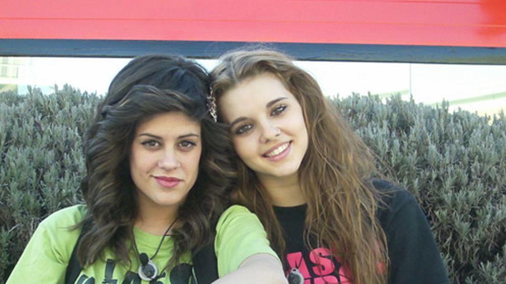 María y Sonia juntitas