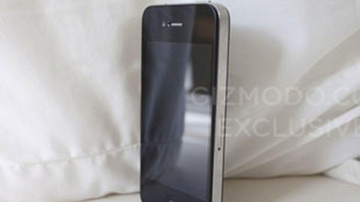 Imagen difundida por el portal Gizmodo del nuevo iPhone 4G. Foto: Gizmodo.