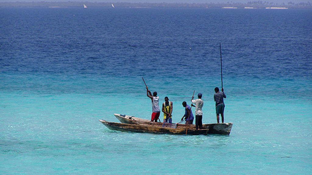 El mar en Zazibar es otra fuente de vida