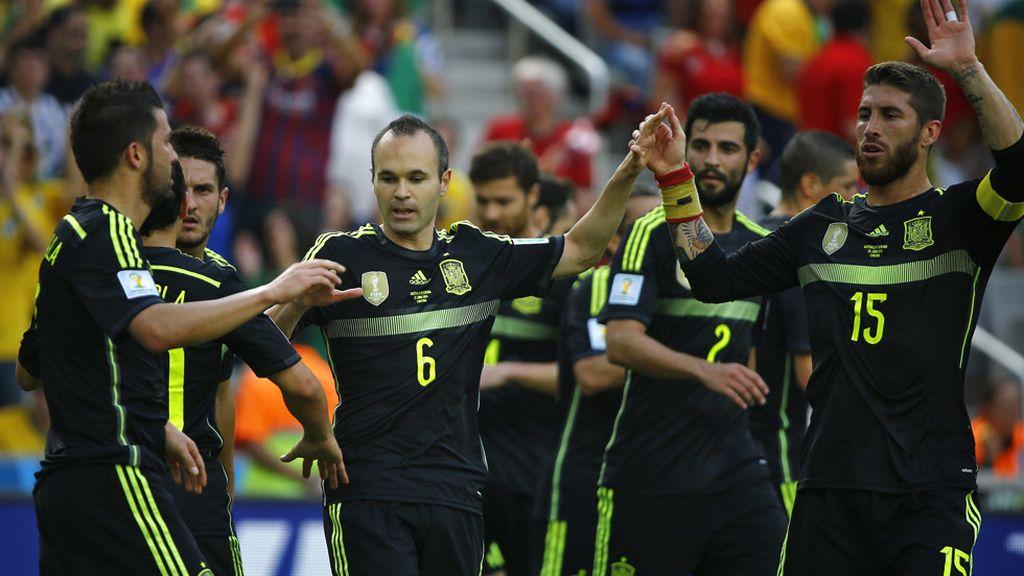 La Roja celebró por fin un gol de jugada