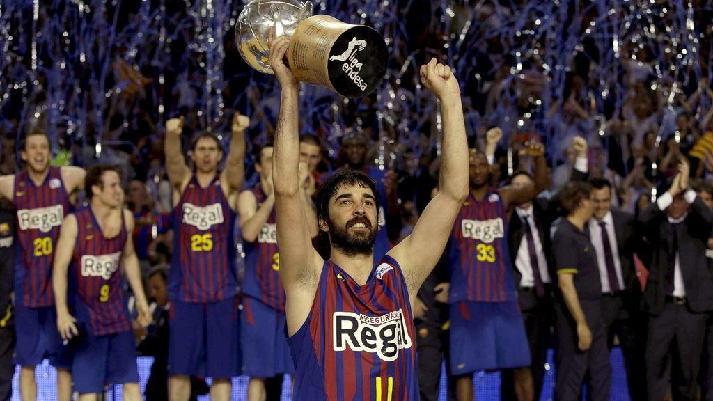 El Barcelona Regal, campeón de la Liga Endesa
