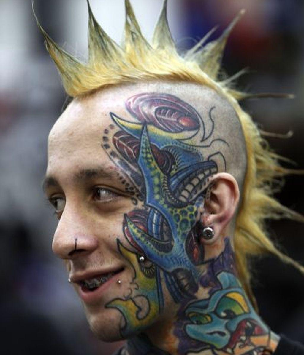 Tatuajes y crestas