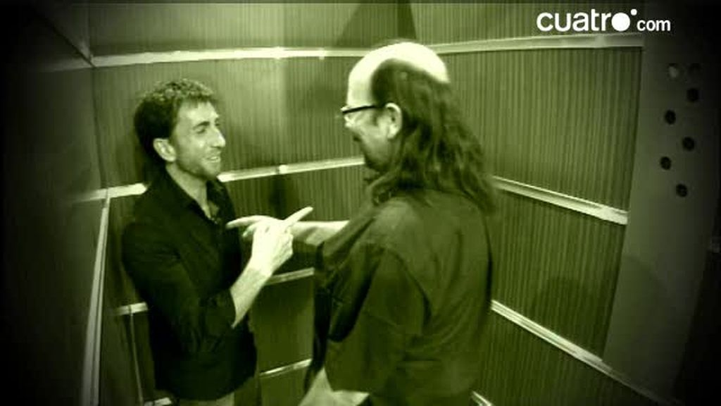 Raquel Martos descubre con Pablo Motos y Santiago Segura algunas mentiras de Internet