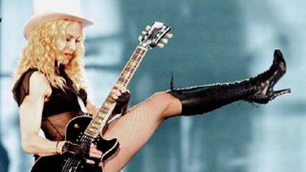 Madonna, la cantante más escuchada en lugares públicos de todo Reino Unido.