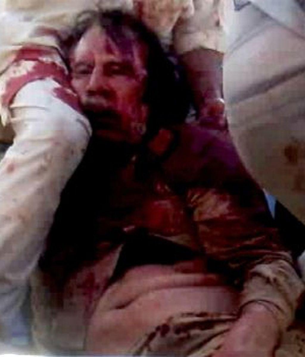 La muerte de Gadafi