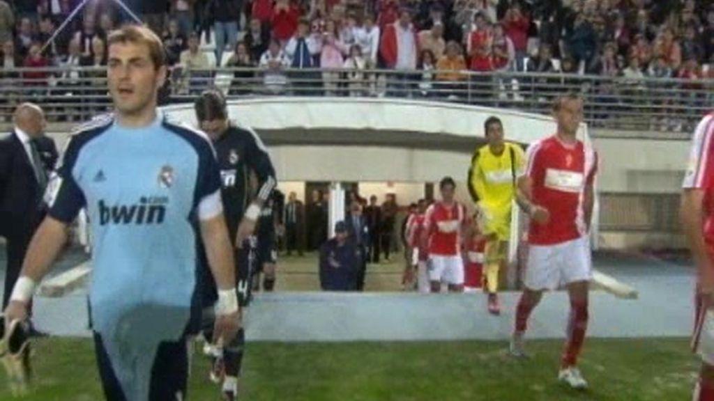 El Real Madrid empeta con el Murcia, de 2ª B