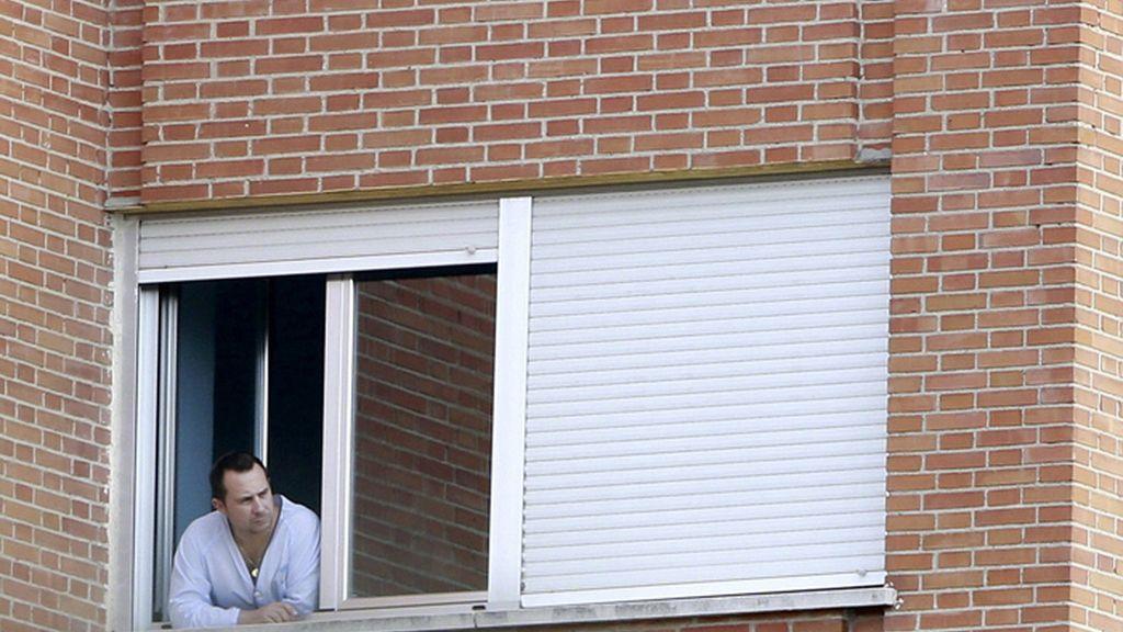 Javier Limón, en el hospital Carlos III