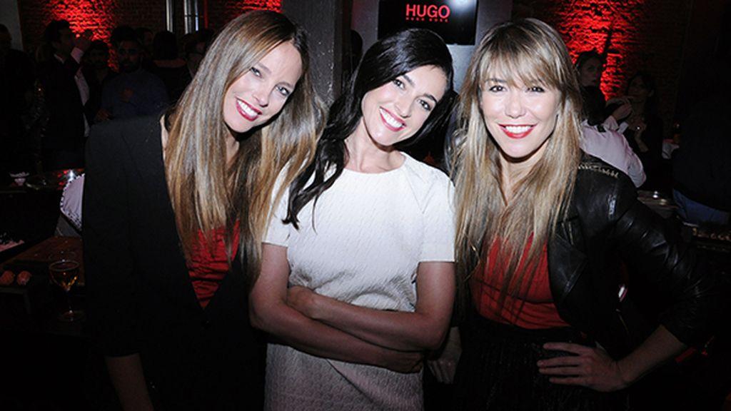 Estefanía Luyk, Blanca Romero y Raquel Meroño