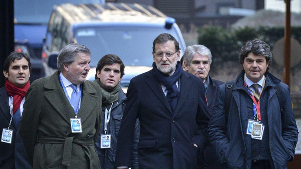 Mariano Rajoy en la Cumbre Europea de Jefes de Estado y de Gobierno de la UE