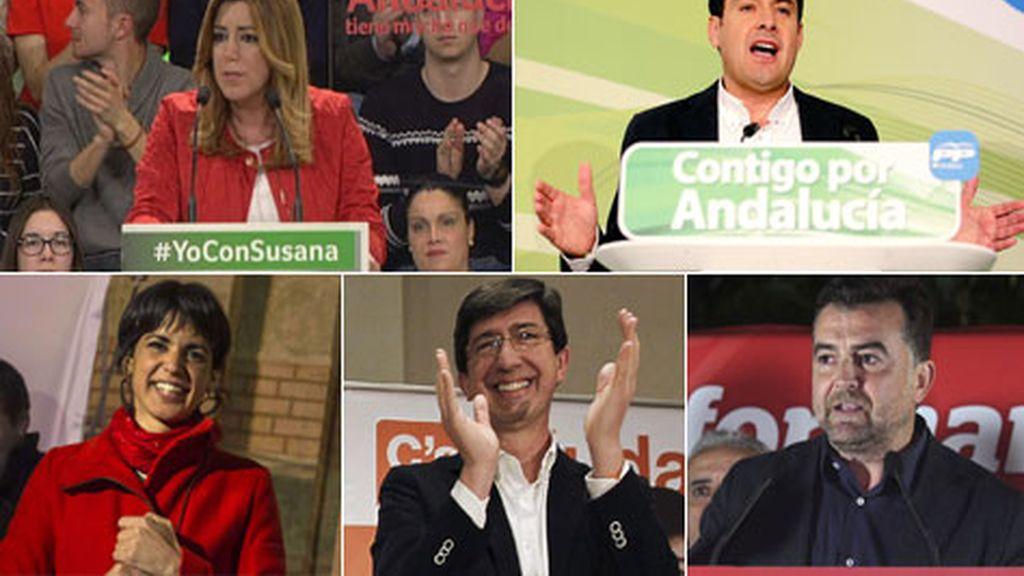 Arrancan las elecciones andaluzas