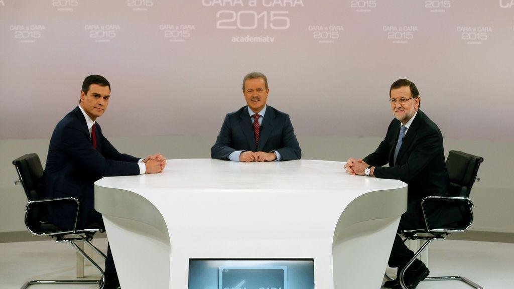 Debate entre Mariano Rajoy y Pedro Sánchez